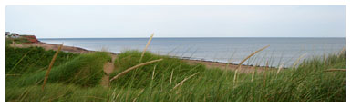 Emerald Isle Beach House ~ Prince Edward Island Beach Vacations Beach Scene
