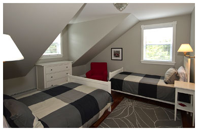 Chester Vacation House - Twin Bedroom